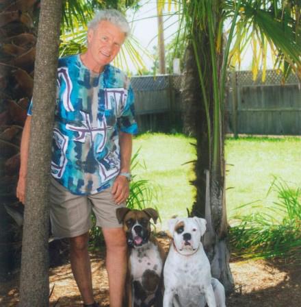 Doug and his dogs