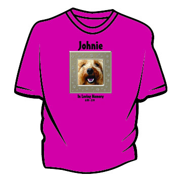 T-shirt-with-dog-photo-and-tan-paws-frame-plus-text